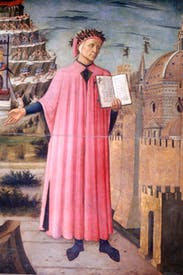 Portrait of Dante by Domenico di Michelino