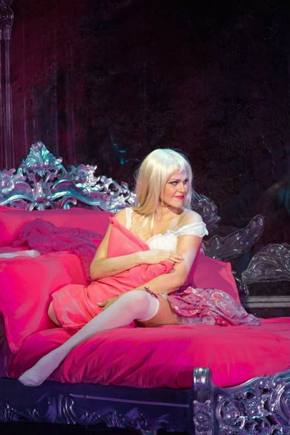 Barbie doll: Kristine Opolais as Manon