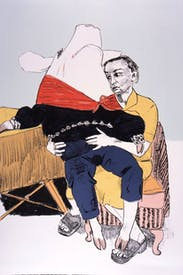 'Prince Pig's Courtship' by Paula Rego