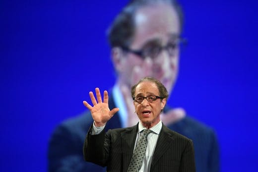 "Ray Kurzweil speaks on ""Singularity"" dur"