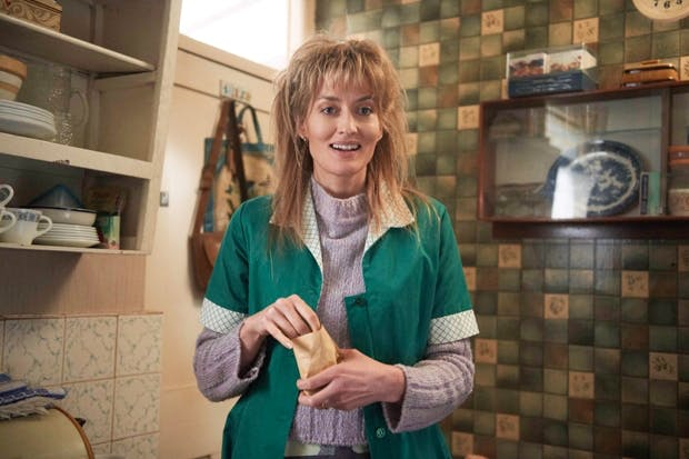 Obstacle on the footballing front: Natascha McElhone as Georgie's mother