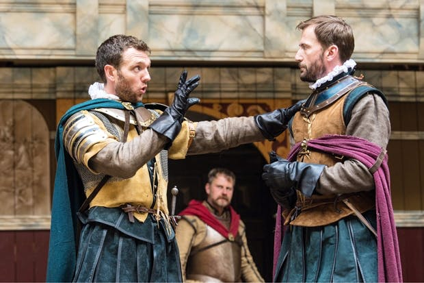 Decent and enjoyable production: Tom McKay (Brutus) and Anthony Howell (Cassius)