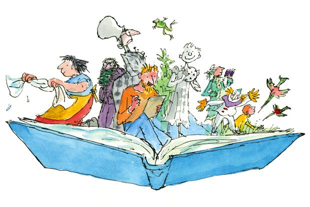 Characters from 'Inside Stories' by Quentin Blake