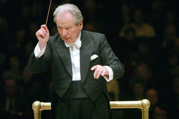Neville Marriner: still going strong at the age of 90