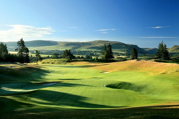 Each green is a riddle: Gleneagles