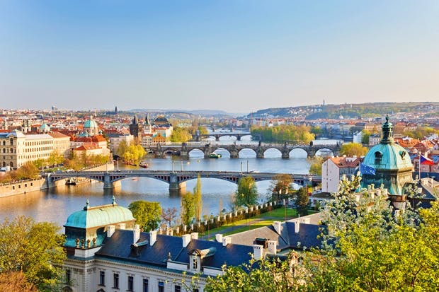 A literary city: Prague