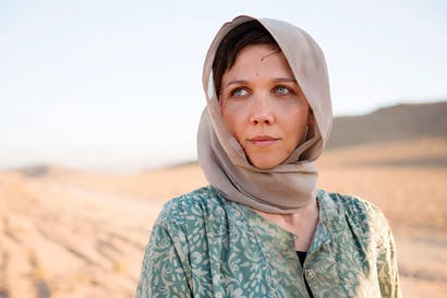 A woman of substance: Maggie Gyllenhaal as the saintly Nessa