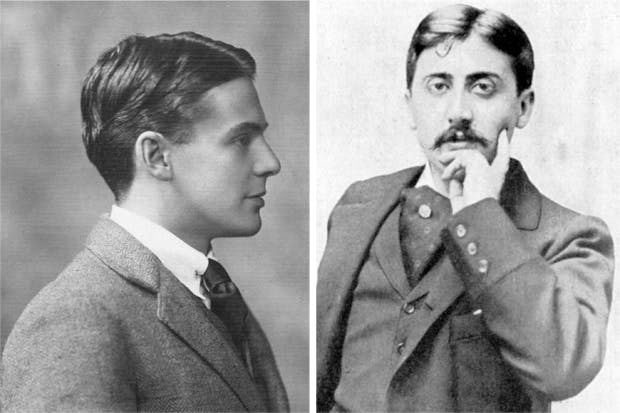 Charles Scott Moncrieff (left) had a deep personal affinity with Proust (right). His rendering of 'À La Recherche du Temps Perdu' is considered one of the greatest literary translations of all time