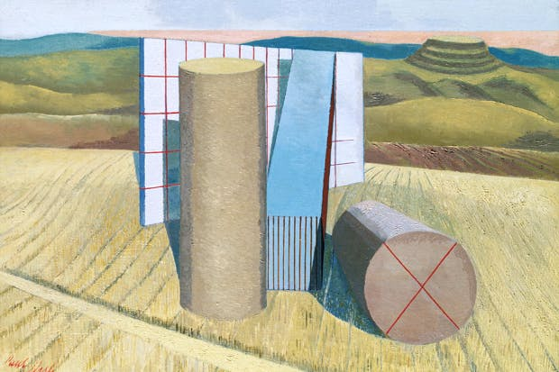 'Equivalents for the Megaliths', 1935, by Paul Nash