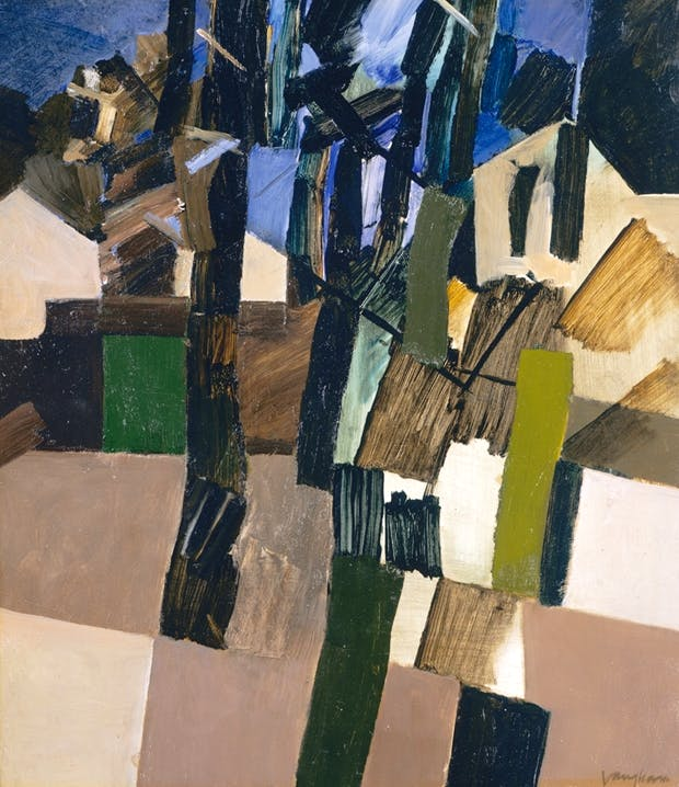 'Harrow Hill 1972 III' by Keith Vaughan
