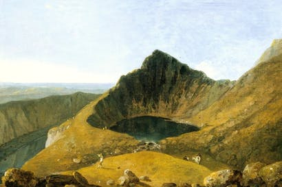'Llyn Cau, Cader Idris', 1765–67, by Richard Wilson