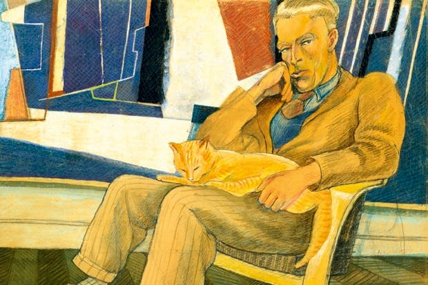 Portrait of John Piper by Peggy Angus