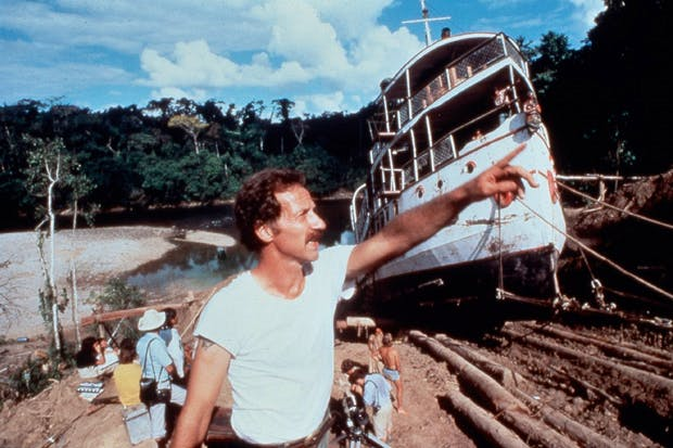 Herculean feat: hauling a steamship over a mountain for 'Fitzcarraldo'