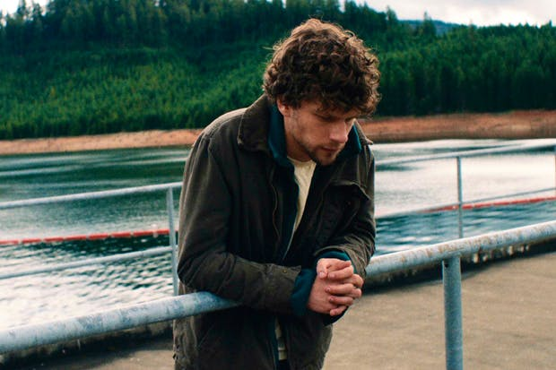Angry young man: Jesse Eisenberg as Josh in 'Night Moves'