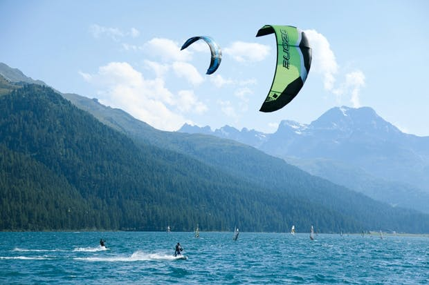 Activity break: Nira Alpina also offers kite-surfing