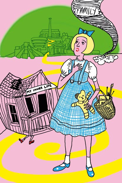 'Me as Dorothy' by Grayson Perry —but what's with the frocks?