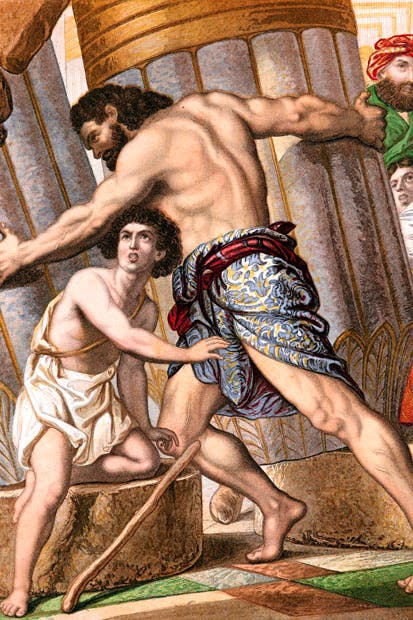 The first suicide bomber was probably Samson, who died while pulling down the temple of the Philistines