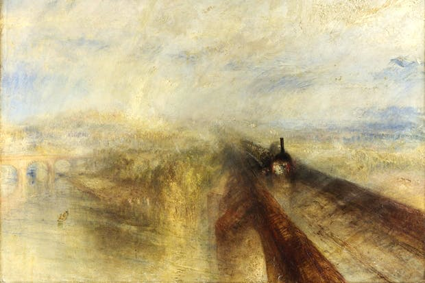 'Rain, Steam and Speed — The Great Western Railway', 1844, by J.M.W. Turner