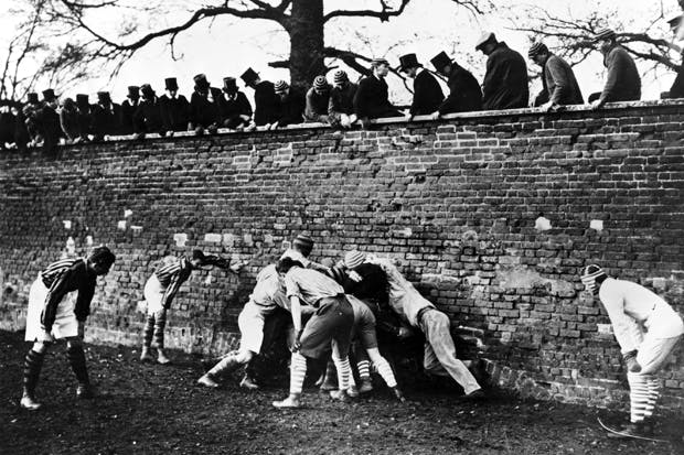 Probably not coming to Holyport College: the Eton Wall Game