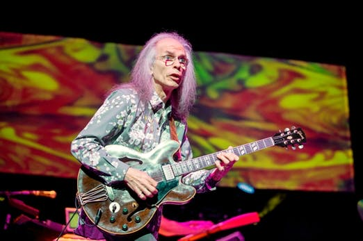 Yes Perform At Clyde Auditorium In Glasgow
