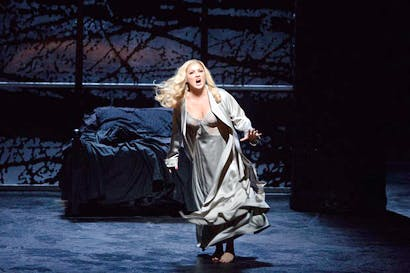Anna Netrebko as Lady in Verdi's 'Macbeth', Metropolitan Opera