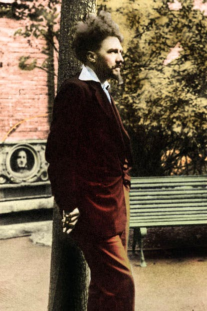 Ezra Pound in the early 1920s