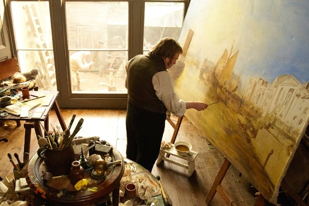 Timothy Spall as the eponymous painter in Mike Leigh's new film 'Mr Turner'