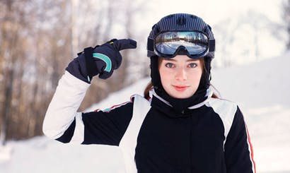 Ski helmets: everyone's doing it now
