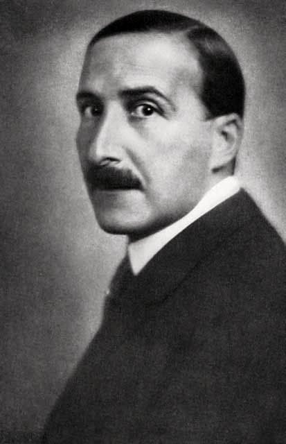 'Exquisitely dressed and groomed, Stefan Zweig looks simply terrified'