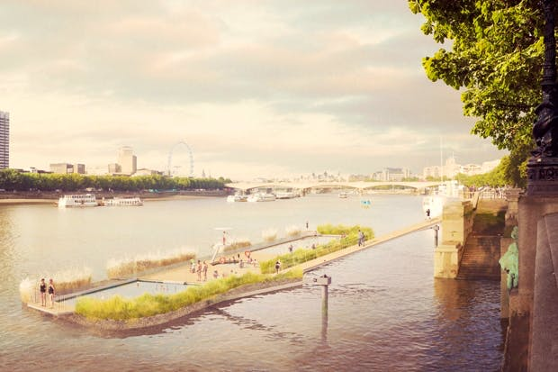 Down by the riverside: the Thames Bath project