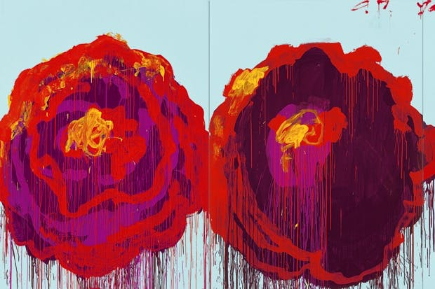The Rose (IV), by Cy Twombly