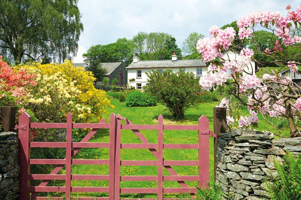 Behind almost every great writer is a great garden - The writers cottage inspiration by design ...