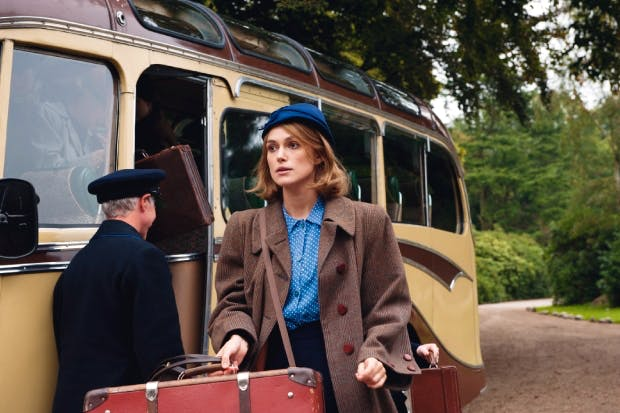 Railly, railly posh: Keira Knightley as Joan Clarke