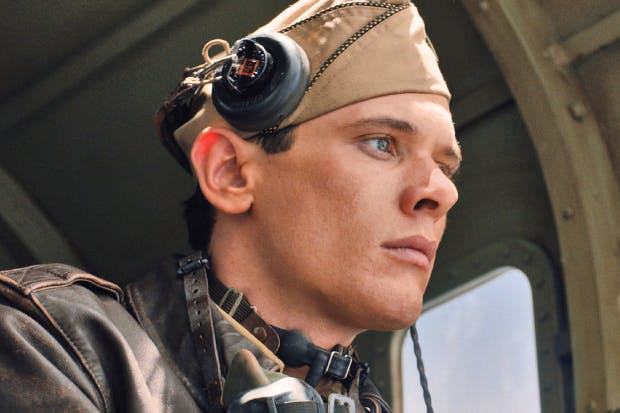 Jack O'Connell in 'Unbroken' — out next month — one of the few films today with a star writing team, the Coen brothers