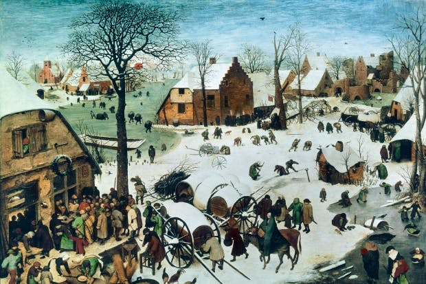 'The Census at Bethlehem', 1566, by Pieter Bruegel the Elder