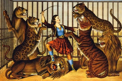 'The Lion Queen'