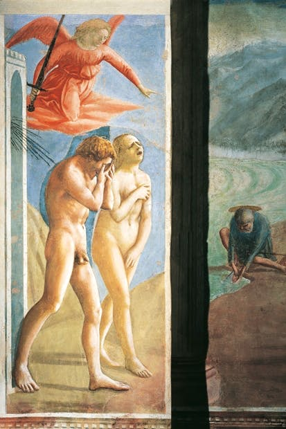 Masaccio's 'Expulsion of Adam and Eve from Paradise'
