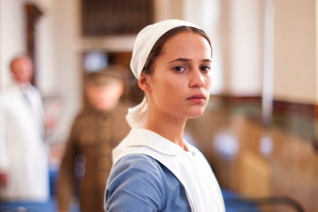 'Exceptionally good': Alicia Vikander as Vera Brittain in 'Testament of Youth'