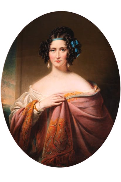 Mary Anne Disraeli by James Godsell Middleton