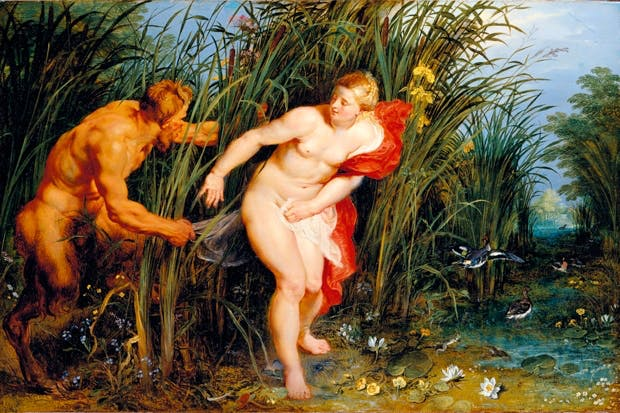 'Pan and Syrinx', 1617, by Peter Paul Rubens