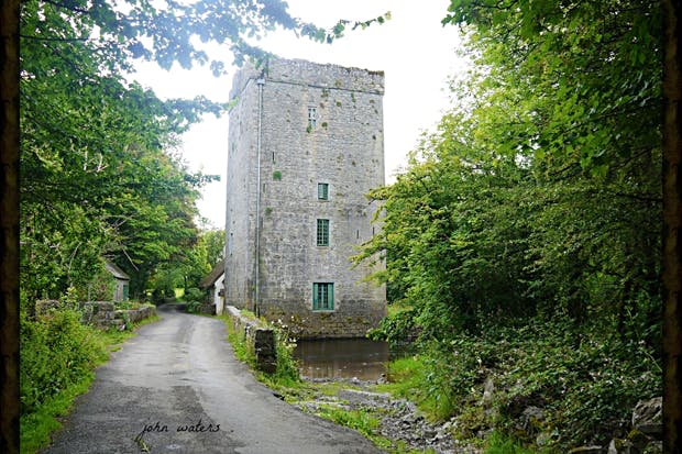 Old mill boards and sea-green slates: Yeats's tower