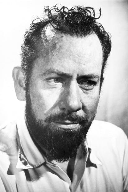 John Steinbeck at the time of writing Travels with Charley
