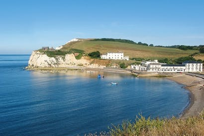 Incredible shrinking county: the tides at Freshwater Bay