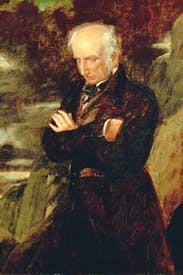 Benjamin Robert Haydon's portrait of William Wordsworth