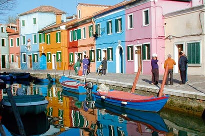Calm and colourful: Burano