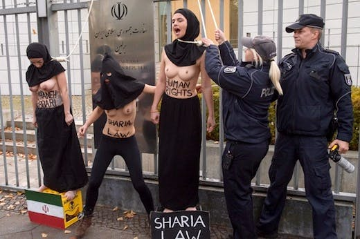 GERMANY-FEMEN-PROTEST