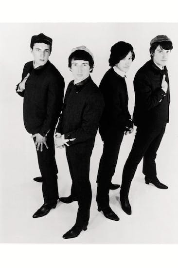 The Kinks in their Sixties heyday— Ray Davies is far right, next to his brother Dave
