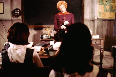 The crème de la crème: Maggie Smith as Miss Jean Brodie, most famous of all Scottish public schoolmistresses