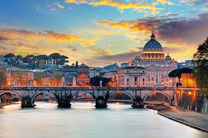 Let there be light: Saint Peter's at dawn