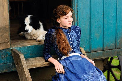 Spirited but always stylish: Carey Mulligan as Bathsheba